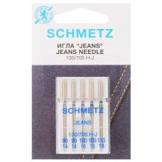Иглы SCHMETZ для джинсы 5-№90-100-110